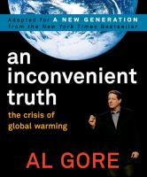Cover image for An inconvenient truth : the crisis of global warming