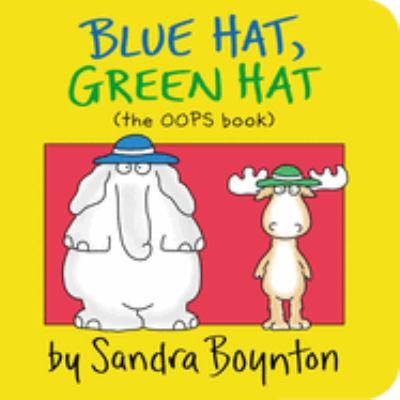 Cover image for Blue hat, green hat