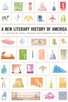 Cover image for A new literary history of America
