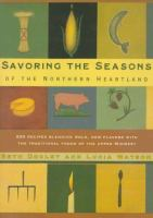 Cover image for Savoring the seasons of the northern heartland