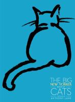 Cover image for The big New Yorker book of cats