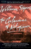 Cover image for The confessions of Nat Turner