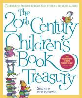 Cover image for The 20th century children's book treasury : celebrated picture books and stories to read aloud