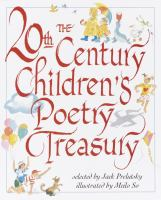Cover image for The 20th century children's poetry treasury