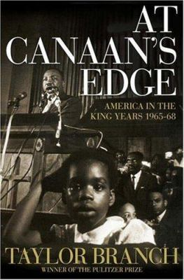 Cover image for At Canaan's edge : America in the King years, 1965-68
