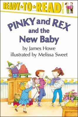 Cover image for Pinky and Rex and the new baby