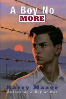 Cover image for A boy no more