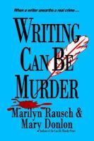Cover image for Writing can be murder