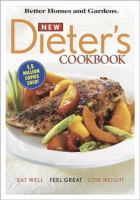 Cover image for New dieter's cookbook : eat well, feel great, lose weight