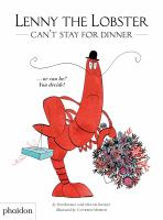Cover image for Lenny the Lobster can't stay for dinner