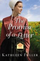 Cover image for The promise of a letter
