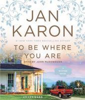 Cover image for To be where you are