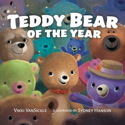 Cover image for Teddy bear of the year