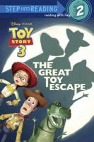 Cover image for The great toy escape
