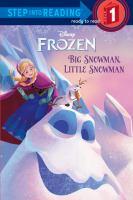 Cover image for Big snowman, little snowman