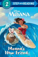 Cover image for Moana's new friend