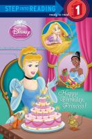 Cover image for Happy birthday, princess!