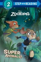 Cover image for Super animals!