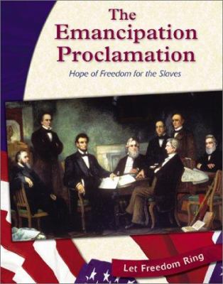 Cover image for Emancipation Proclamation : hope of freedom for the slaves