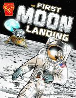Cover image for The first moon landing