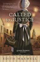 Cover image for Called to justice