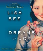 Cover image for Dreams of joy : a novel