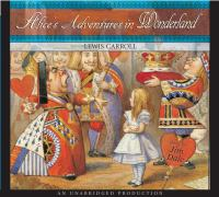 Cover image for Alice's adventures in Wonderland