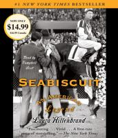 Cover image for Seabiscuit : an American legend