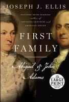 Cover image for First family Abigail and John