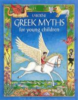 Cover image for Usborne Greek myths for young children