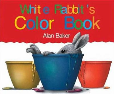 Cover image for White Rabbit's color book
