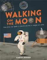 Cover image for Walking on the moon
