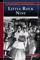 Cover image for Little Rock Nine : struggle for integration