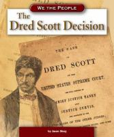 Cover image for The Dred Scott decision