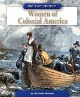 Cover image for Women of colonial America