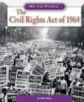 Cover image for The Civil Rights Act of 1964