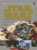 Cover image for Inside the worlds of Star Wars trilogy