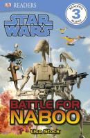 Cover image for Star Wars, battle for Naboo