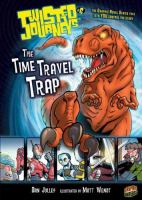 Cover image for The time travel trap