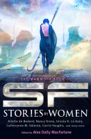 Cover image for The Mammoth book of SF stories by women