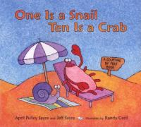 Cover image for One is a snail ten is a crab : a counting by feet book