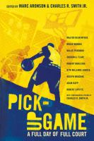 Cover image for Pick-up game : a full day of full court