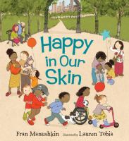 Cover image for Happy in our skin