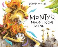 Cover image for Monty's magnificent mane