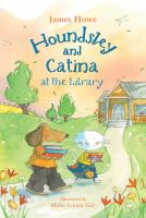 Cover image for Houndsley and Catina at the library