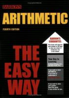 Cover image for Arithmetic the easy way.