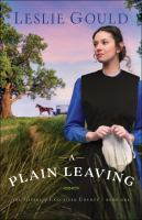 Cover image for A plain leaving