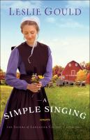 Cover image for A simple singing
