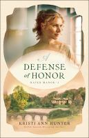 Cover image for A defense of honor