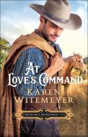 Cover image for At love's command